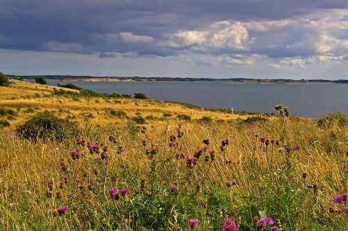 denmark danish coast island