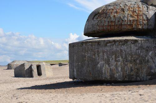 denmark north sea beach