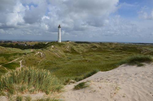 denmark north sea lighthouse