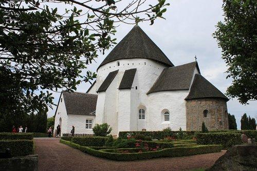 denmark  bornholm  round church
