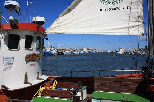 denmark  port  sea