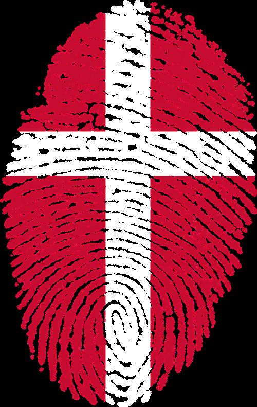 denmark flag fingerprint