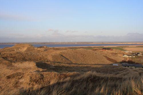 denmark fjord dune