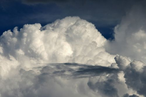 Dense White Cloud