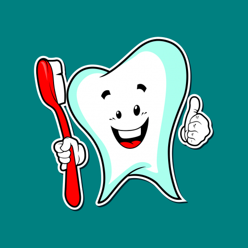 dental care dental mascot