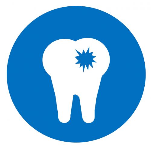 dentist icon cavity