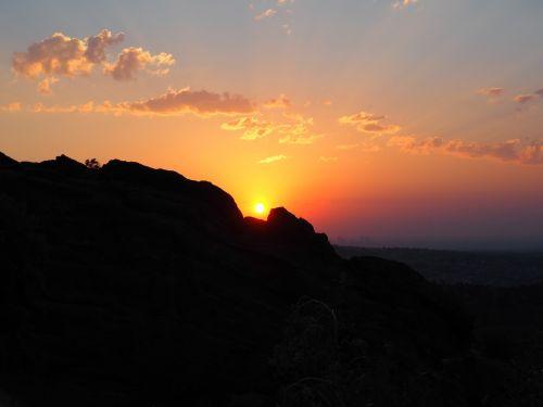 denver colorado sunrise
