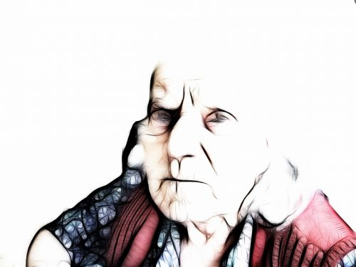 dependent dementia woman