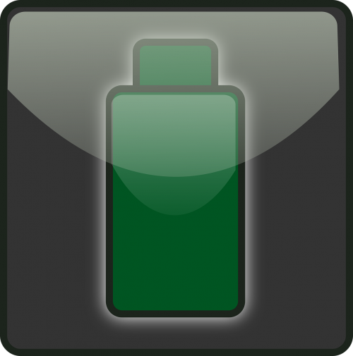 depleted battery green