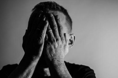 depression sadness man