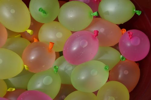 depth charges water balloons water