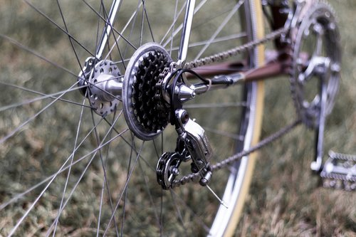 derailleur  gears  chain