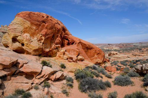 desert mountain desert landscape