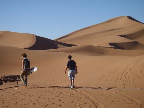 desert sahara dune