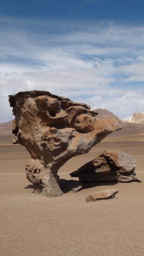 desert bolivia rock
