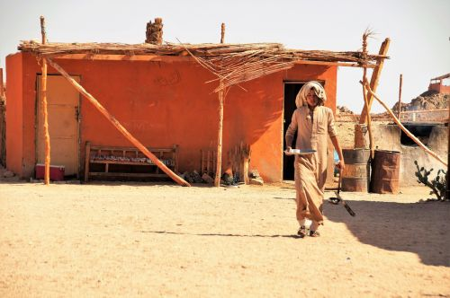 desert bedouin village