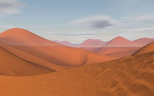 desert dunes sand