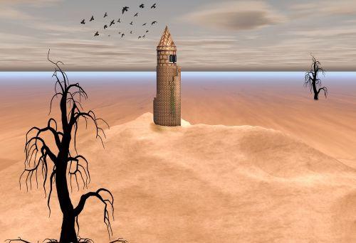 desert tower tree