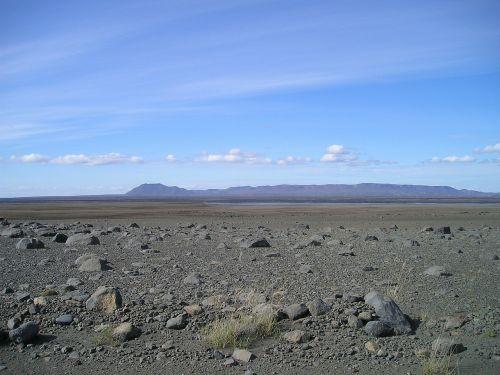 desert flat bleak