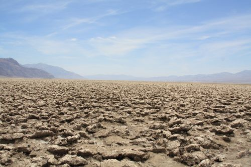 desert dry parched