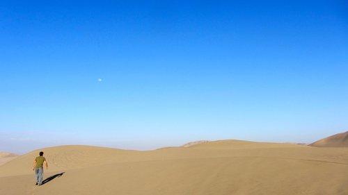 desert  nature  sky