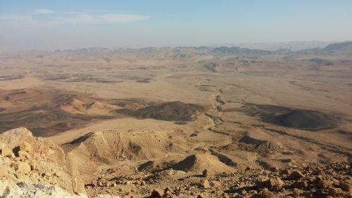 desert crater negev