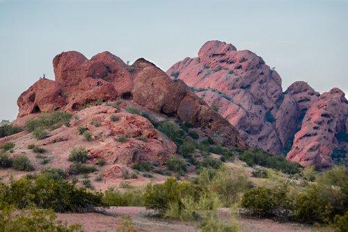 desert mountain  nature  outdoor
