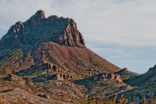 Desert Mountainous Landscape