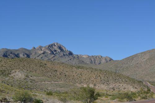 Desert Mountains Green Plant Park