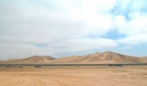 dykuma, smėlis, kopos, namib, dykumos scenos