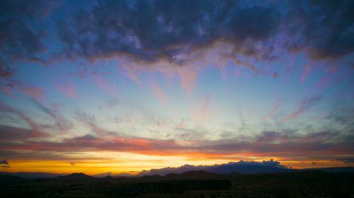 Desert Sunset In Mojave