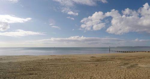 Deserted Ocean Sea Beach