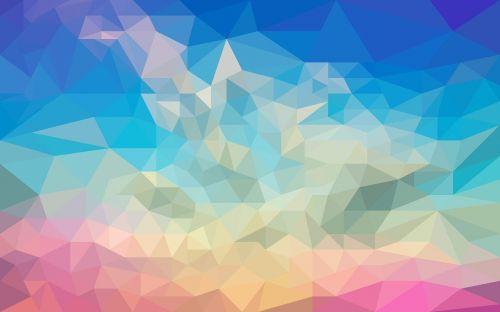 design abstract polygon