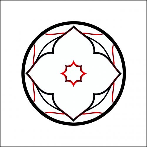 design red black