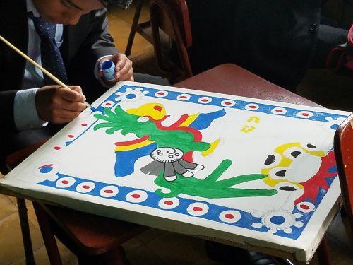 design guatemala painting