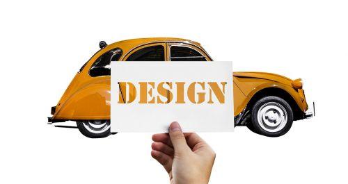 design auto 2cv