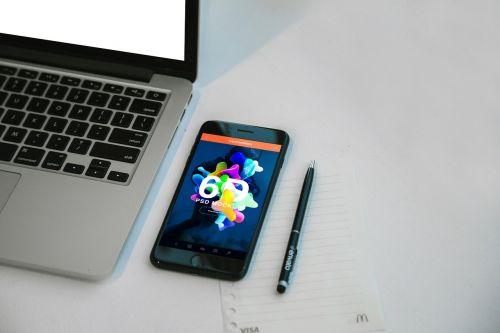 desk apple apple device