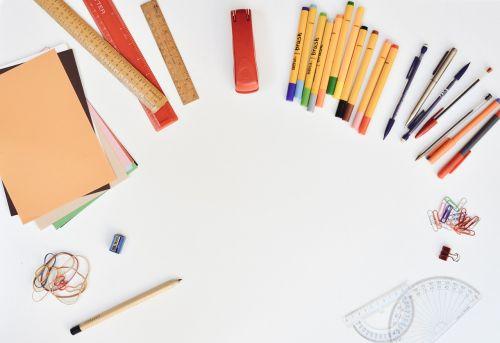 desk stationery pens
