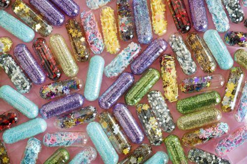 desktop pill abstract