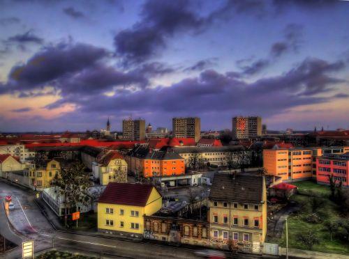 dessau germany skyline