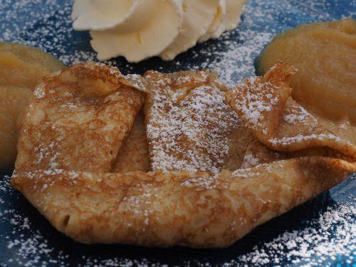 dessert sweet dish pancake