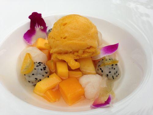 dessert food ice