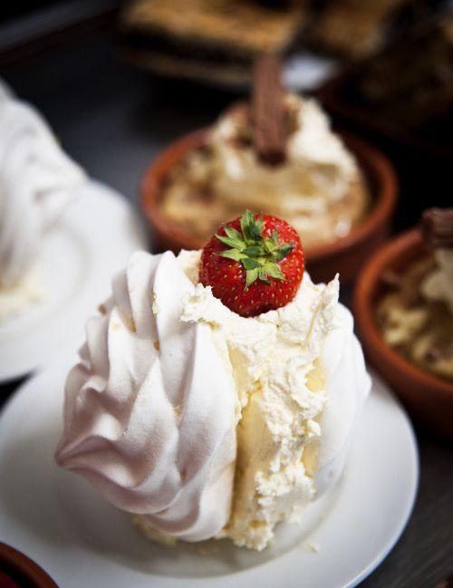 dessert strawberry berry