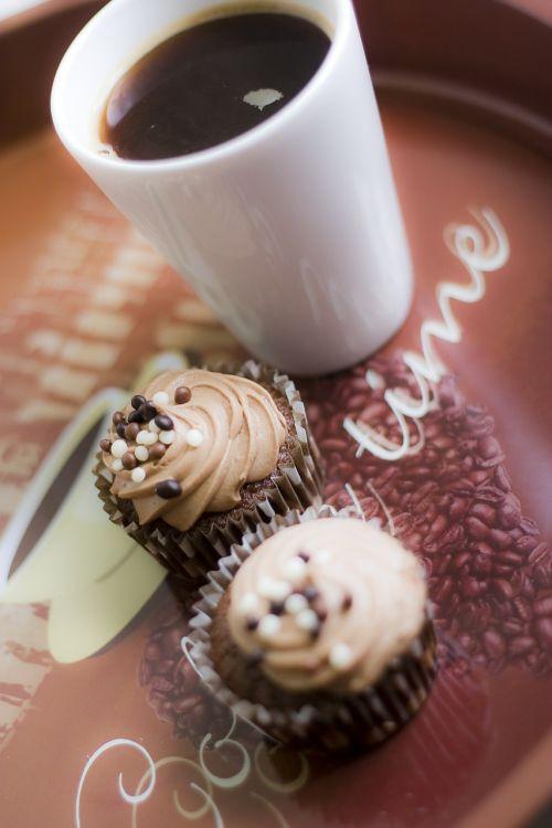 dessert pastry coffee
