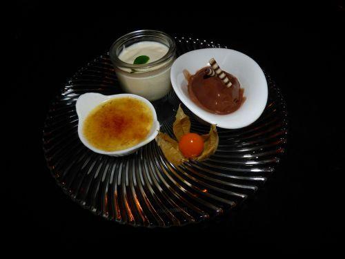 dessert crème brûlée bruelee