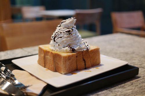 dessert honey bread cafe