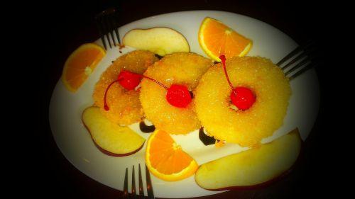 desserts pineapple food