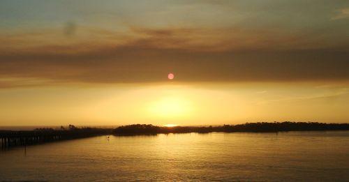 destin sunsets florida emerald coast