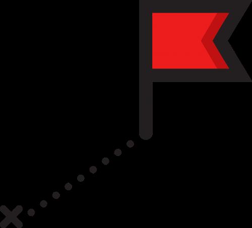 destination route flag
