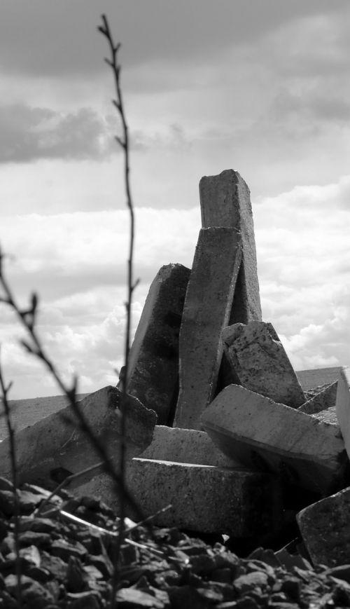 destruction devastation landscape